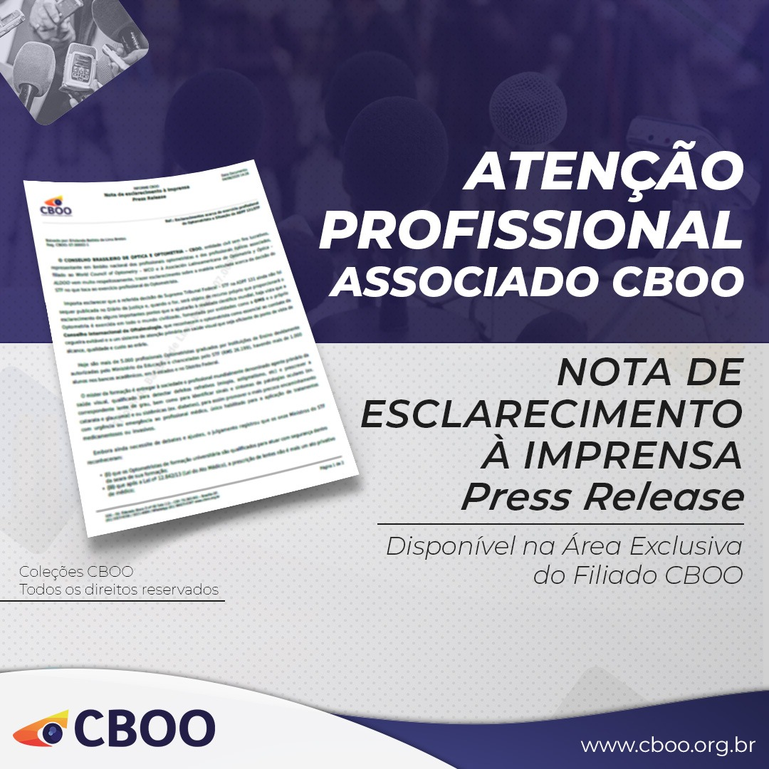 Área Exclusiva Filiado CBOO